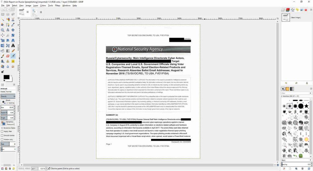 GIMP Document